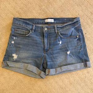 Loft distressed shorts